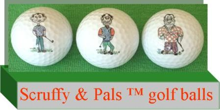 Scruffy's golf balls